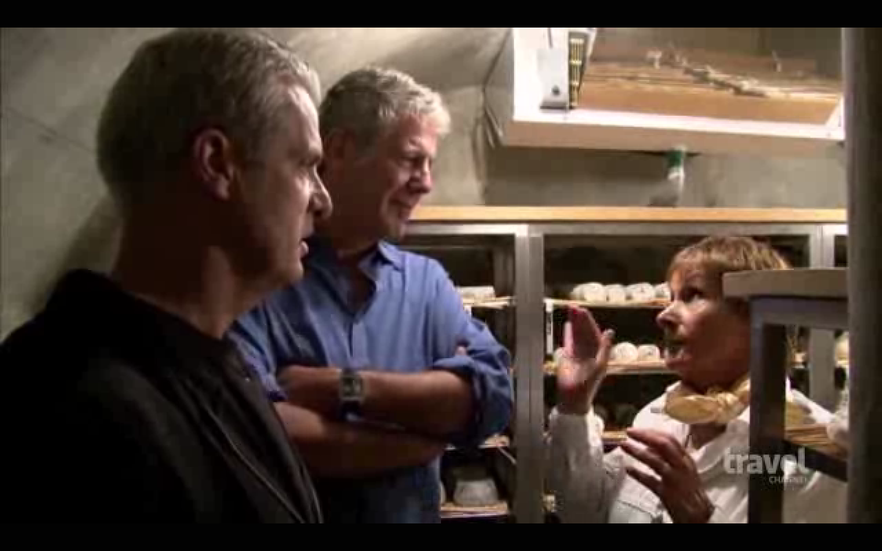 Cuisine Anne 1950 : Anthony bourdain and erik ripert visit cheese shop marie
