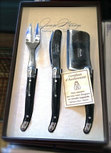 Laguiole Cheese Knives at Rail & Anchor in Royal Oak