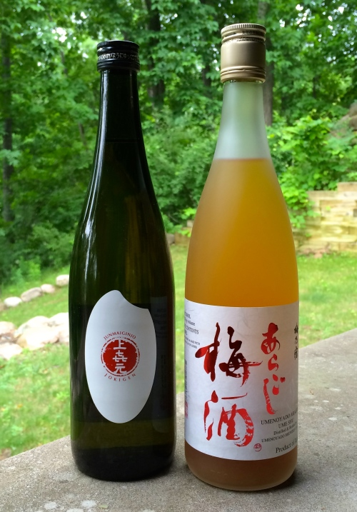 Jokigen & Ume Shu sake