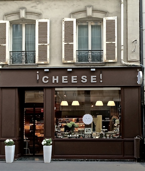 Cheese! on rue Desaix near the Eiffel Tower. Francois, the Fromager, made some excellent suggestions.