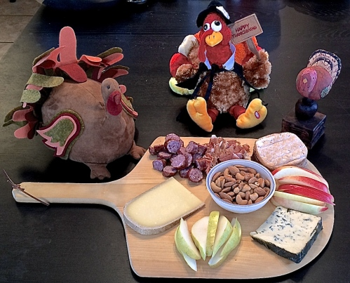 Thanksgiving Cheeseboard: Photo taken by The House Mouse