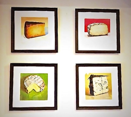 Cheese Prints by Mike Geno: Photograph taken by The House Mouse