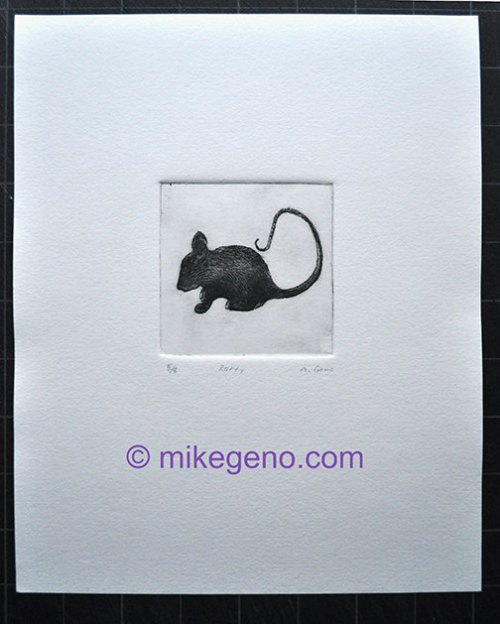 Mouse Print: courtesy of Mike Geno