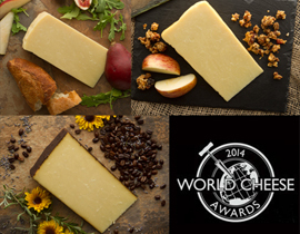 World Cheese Awards Winners: Photo courtesy of Beehive Cheese Co.