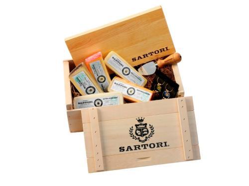 Sartori Limited Edition Gift Basket: Photo courtesy of Sartori Cheese
