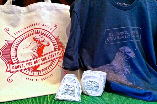 Many Fold Farm Garret's Ferry and Condor's Ruin #travelingsheepshirt and tote